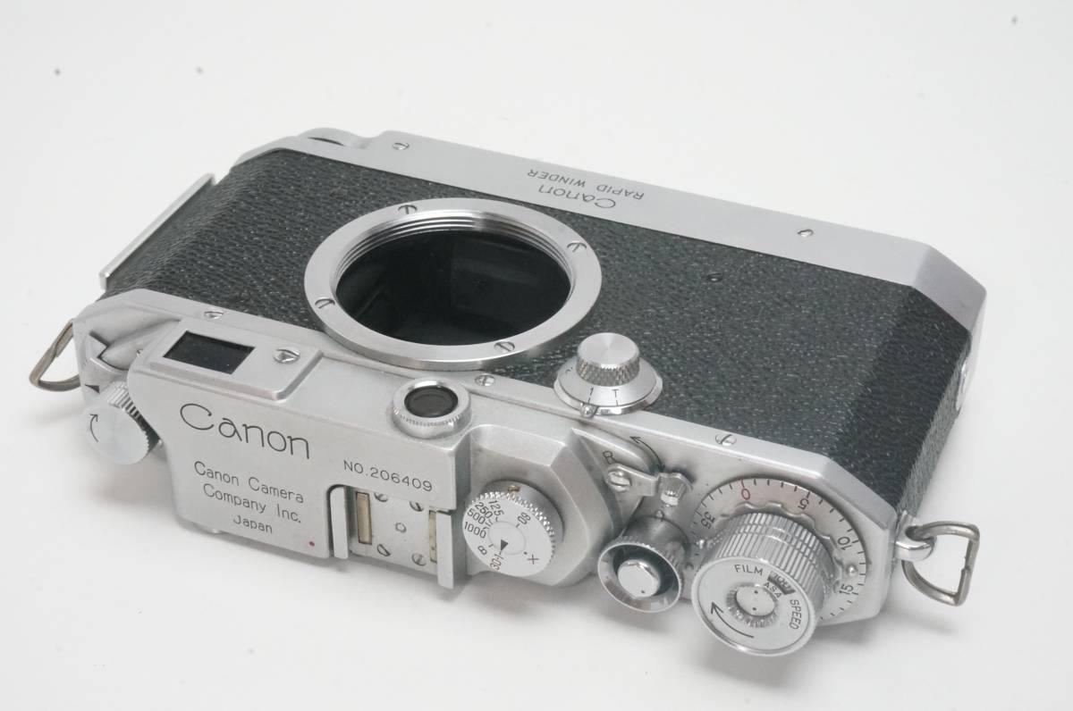 Canon ⅣSB ラビットワインダー付 ライカ L39マウント _画像3