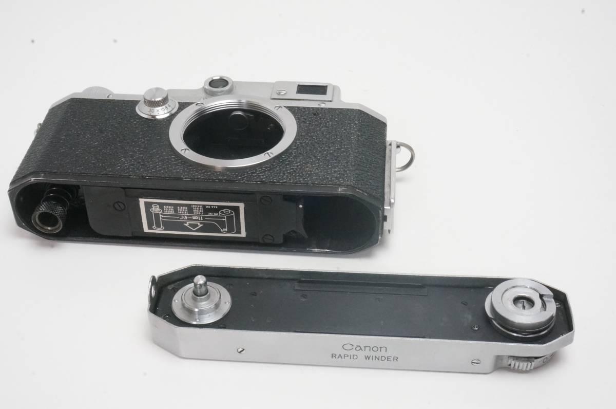 Canon ⅣSB ラビットワインダー付 ライカ L39マウント _画像7