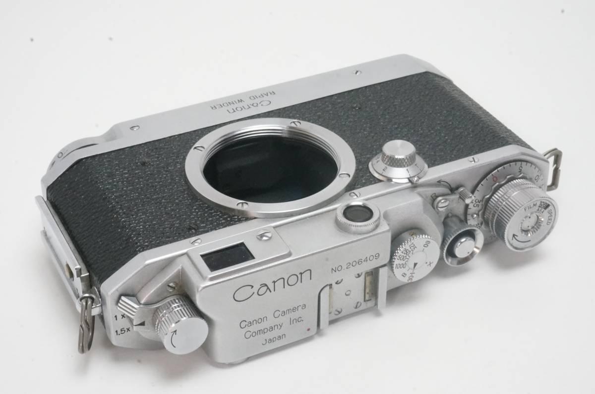 Canon ⅣSB ラビットワインダー付 ライカ L39マウント _画像4