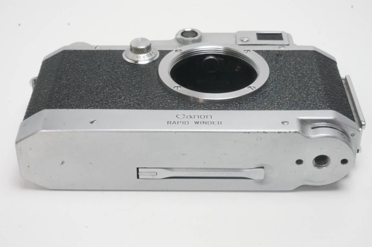 Canon ⅣSB ラビットワインダー付 ライカ L39マウント _画像5