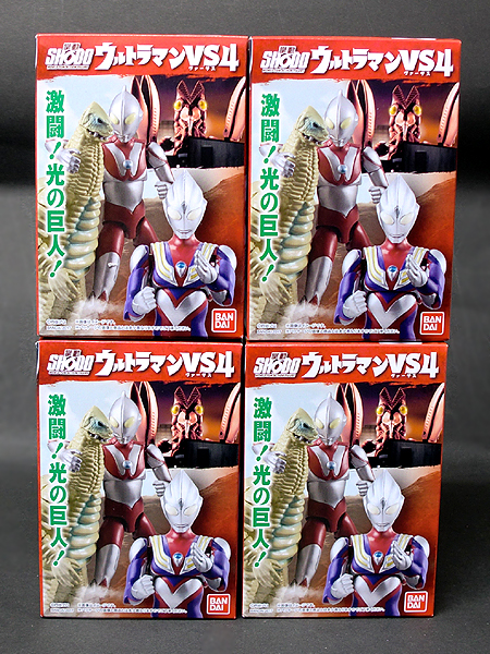 ★SHODO ウルトラマンVS4 全4種 ウルトラマン(Aタイプ)バルタン星人 レッドキング ウルトラマンティガ(マルチ) 掌動 ウルトラマンVS4 数量2