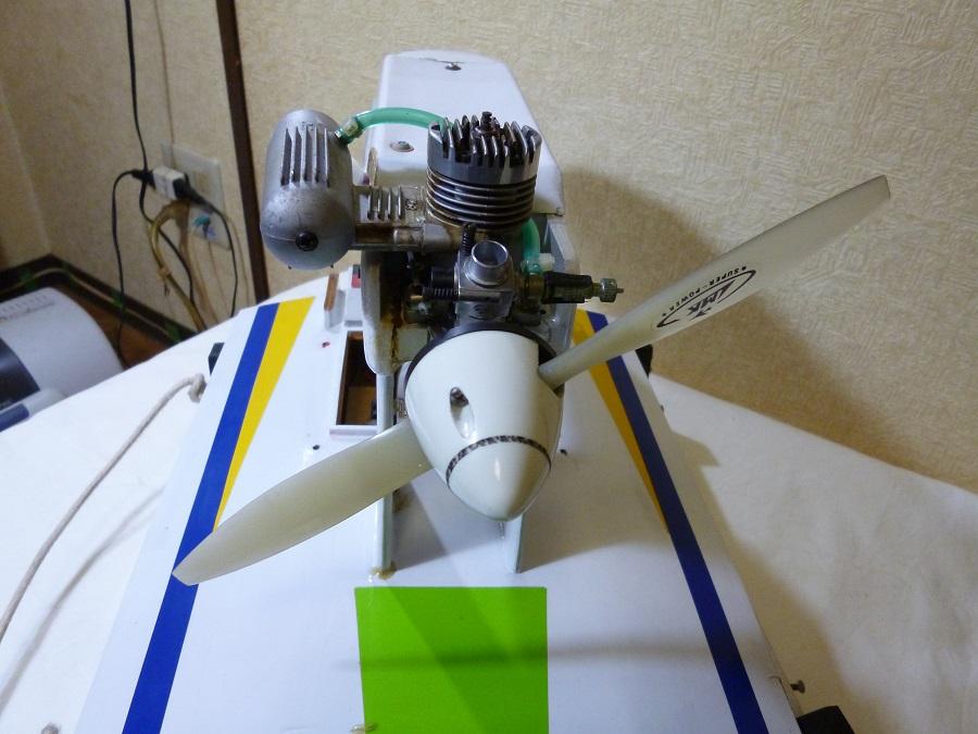 ラジコン式エンジンボート メーカー/型式不明 ジャンク品_画像5