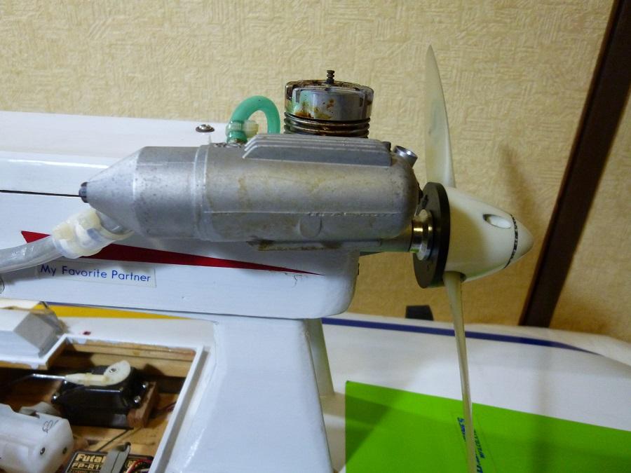 ラジコン式エンジンボート メーカー/型式不明 ジャンク品_画像4