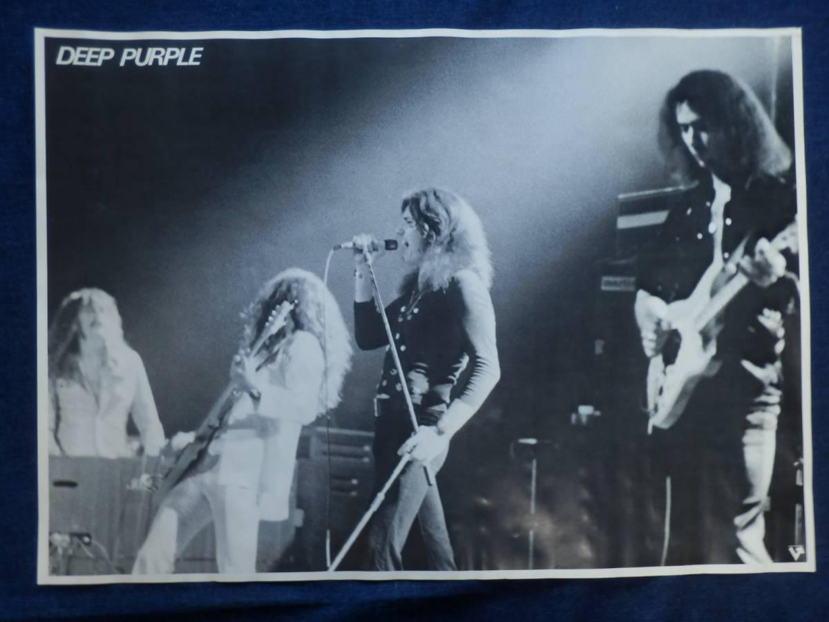 当時物 DEEP PURPLE ディープ・パープル ポスター…018