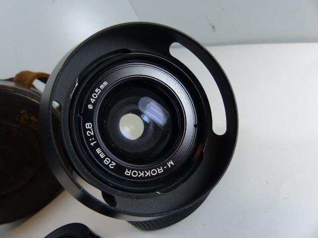 徠卡M Minolta Rocco 28毫米F 2.8花卉引擎蓋 編號:t546354921