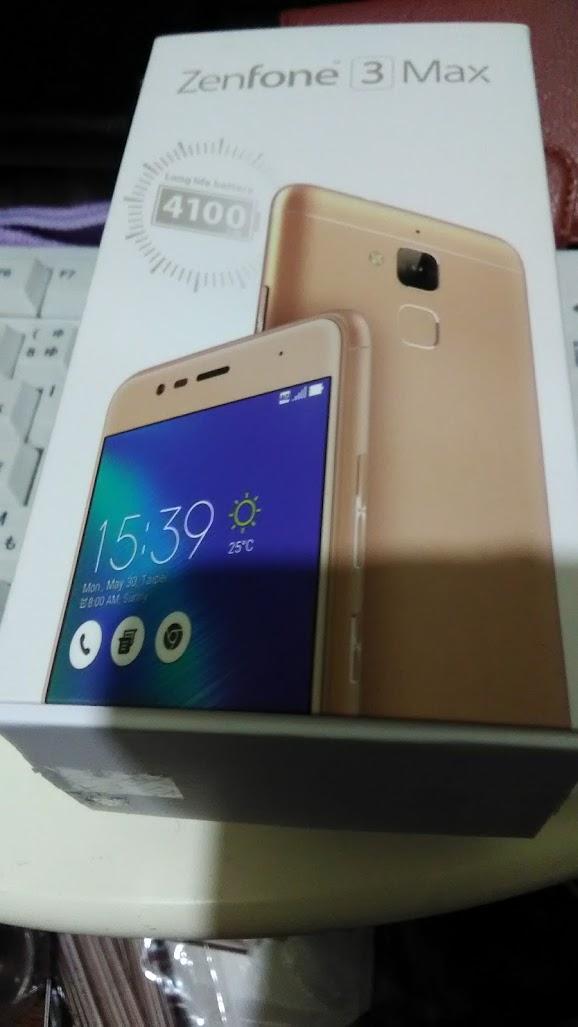 Zenfone3 Max ZC520 TL 新品同様 指紋認証 大容量バッテリ_画像2