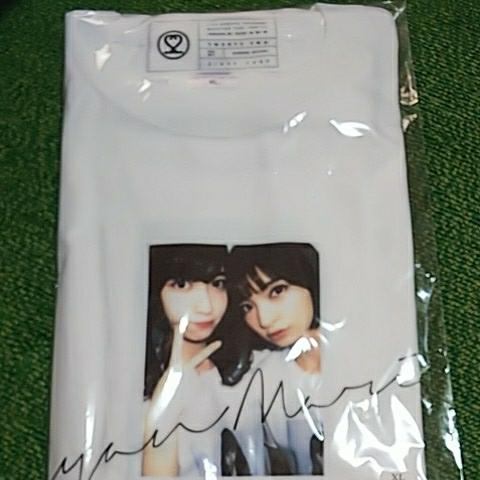 AKB48 小嶋陽菜 22market homies Tシャツ 白XL 小嶋陽菜 篠田麻里子