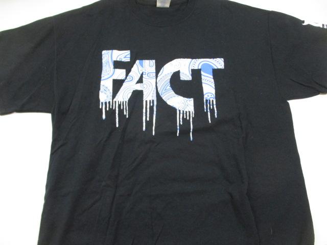 c1-60 FACT Deviluse Tシャツ サイズXL ブラック