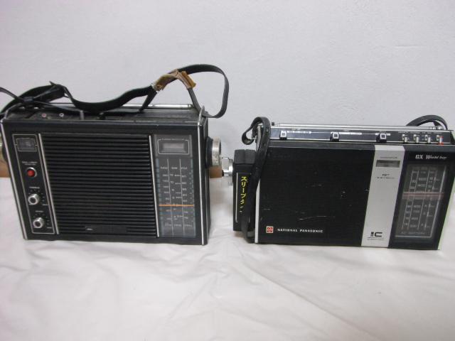 レトロラジオ SONY/ナショナル/東芝/ビクター/NEC などいろいろ13台セット_画像2