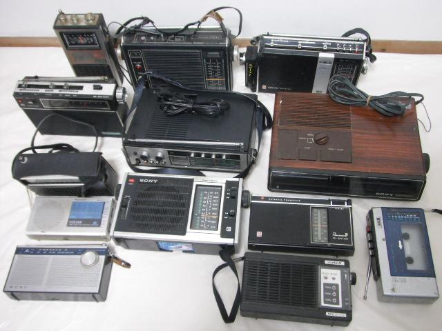 レトロラジオ SONY/ナショナル/東芝/ビクター/NEC などいろいろ13台セット