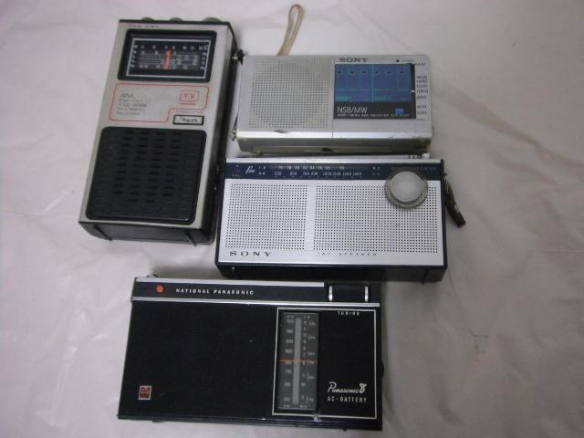 レトロラジオ SONY/ナショナル/東芝/ビクター/NEC などいろいろ13台セット_画像5