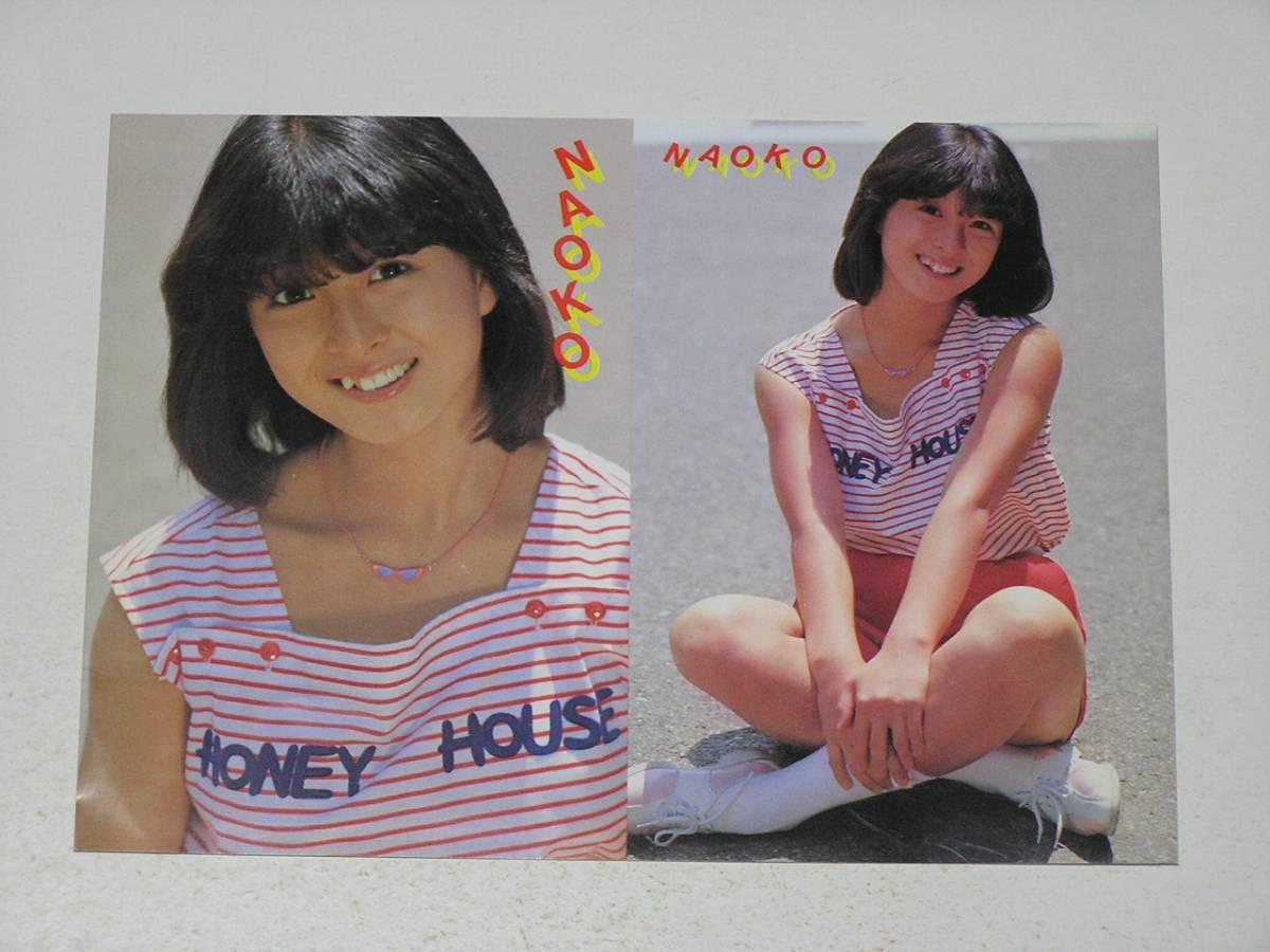 河合奈保子☆1981年サマースケジュール・ポストカード