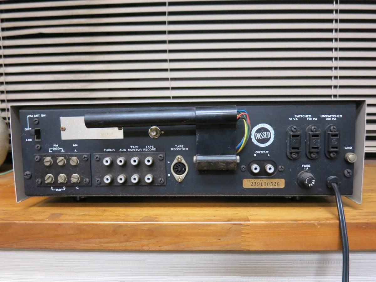 『ジャンク』 Sansui サンスイ TC-505 ステレオチューナーコントロールアンプレイヤー_画像4