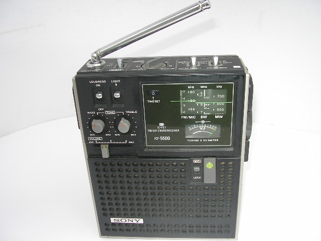 ☆SONY スカイセンサー 5500 ICF-5500