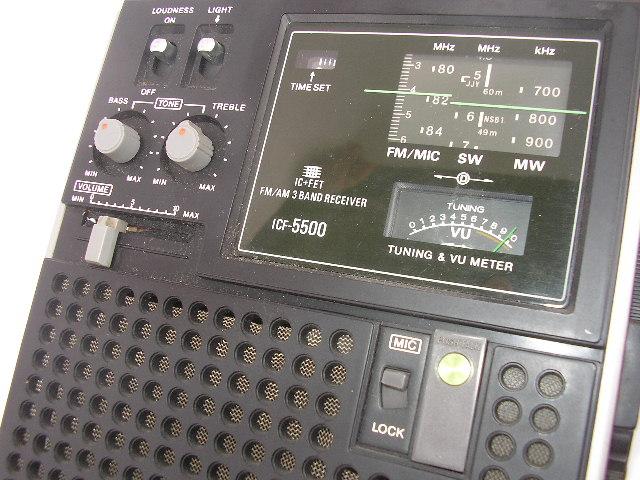 ☆SONY スカイセンサー 5500 ICF-5500_画像4