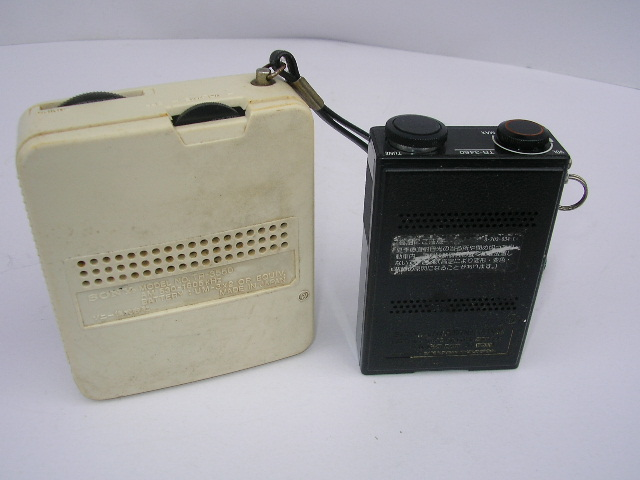☆古いラジオ2台 SONY TR-3460 TR-3550_画像2