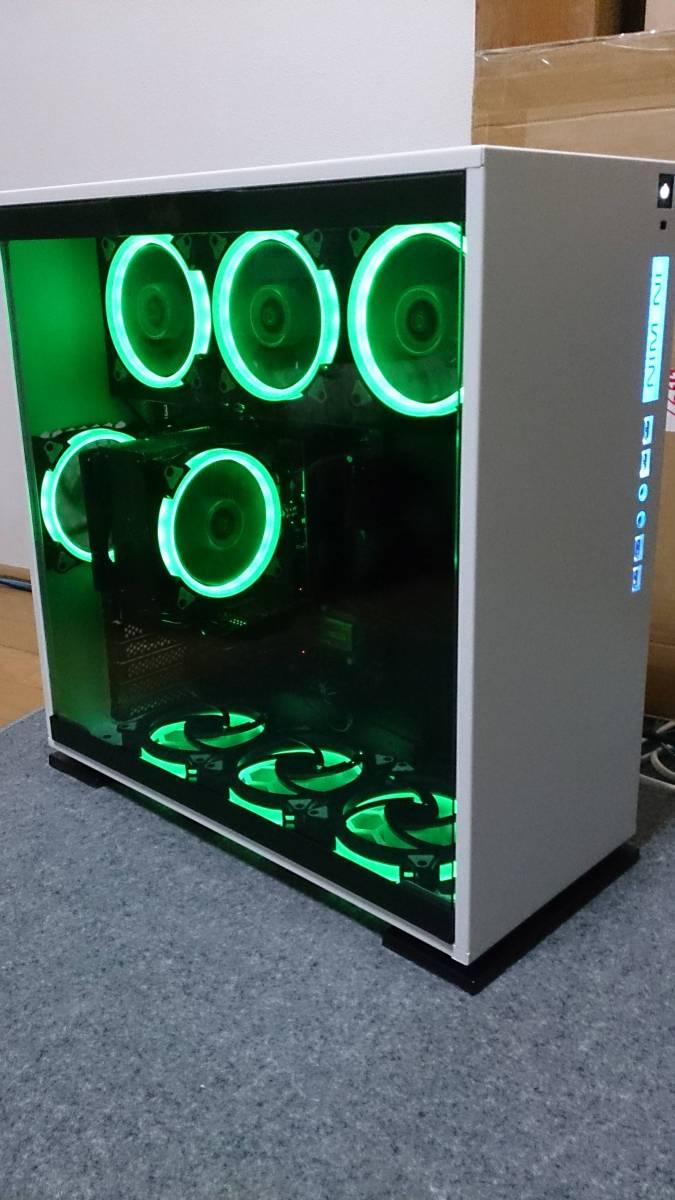 美麗最速ゲーミングIN WIN303/i7-7700K/GTX1070/メモリ16GB/SSD250GB/HDD4T/虎徹MarkⅡデ