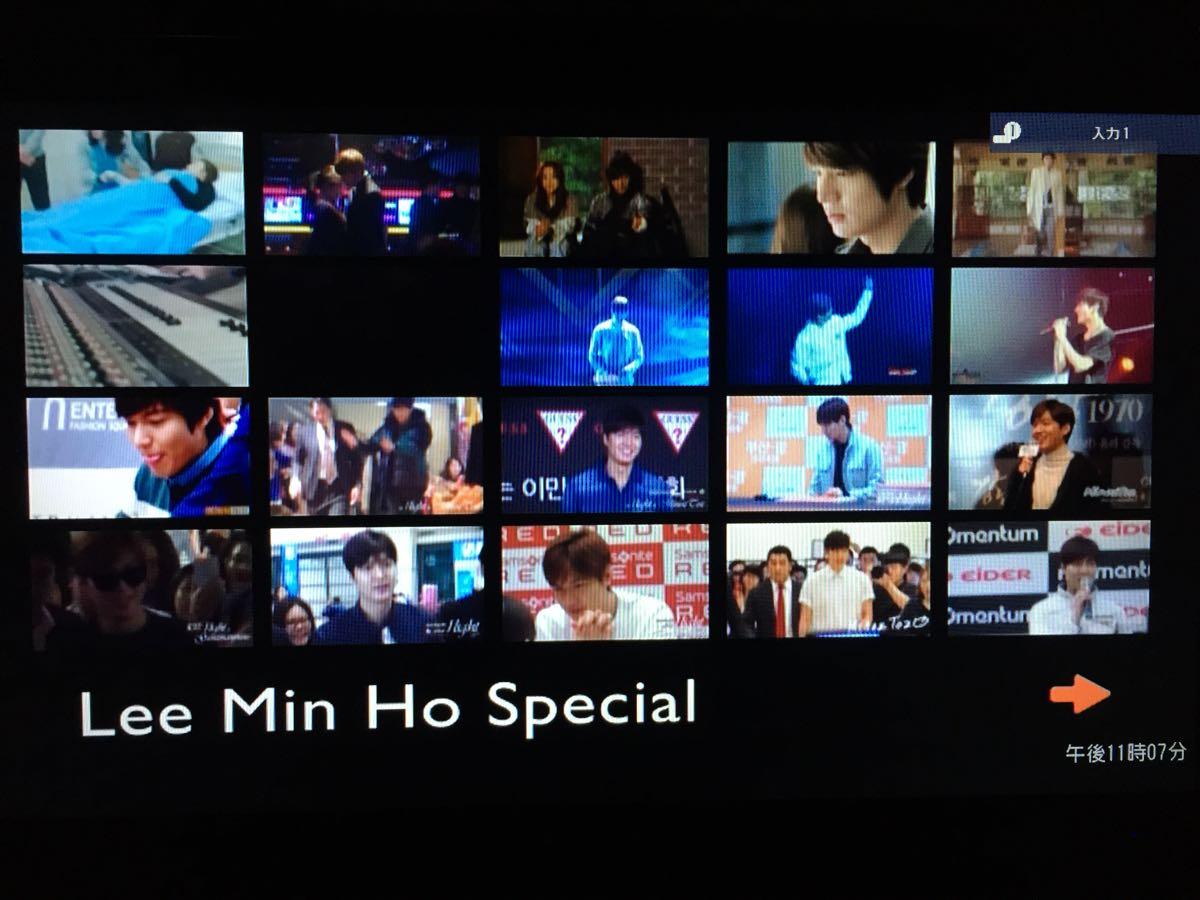 イ・ミンホ SPECIAL EDITION DVD レーベル有・即決・送料込 Lee Min Ho