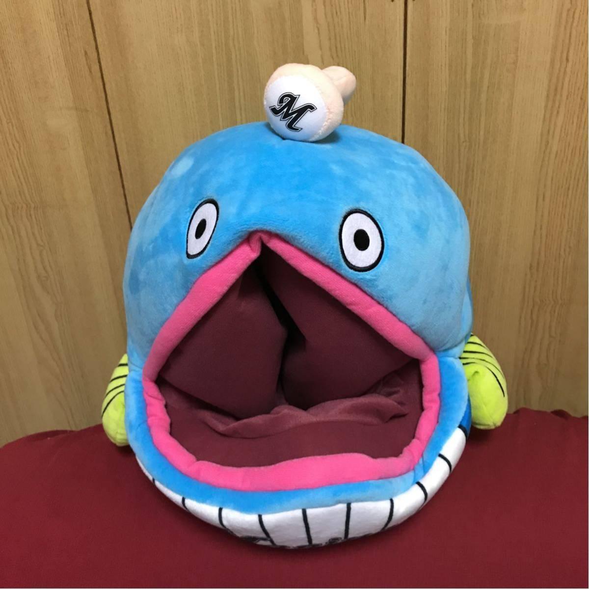 千葉ロッテマリーンズ★メガジャンボぬいぐるみ★謎の魚★ロッテ