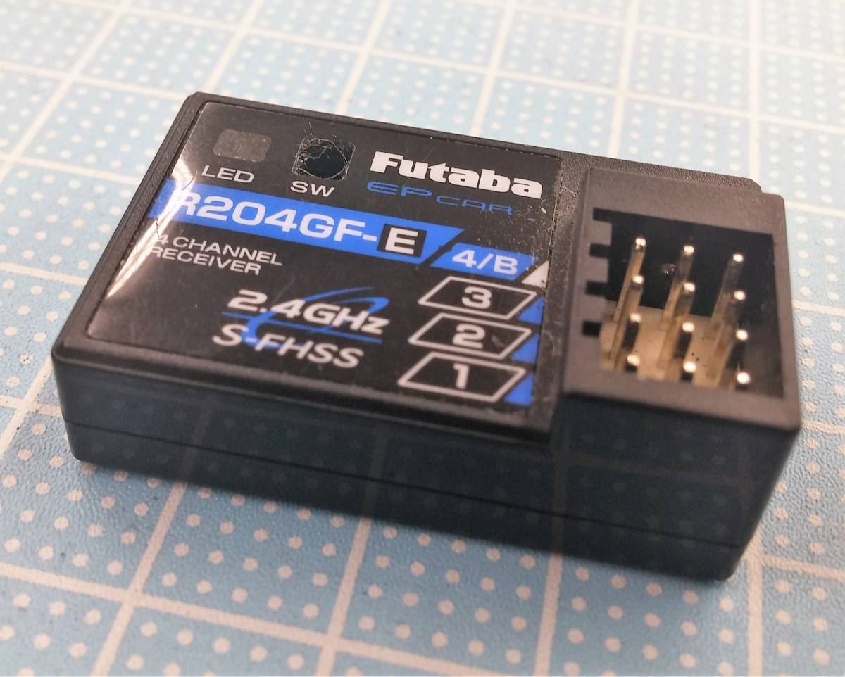 FUTABA 2.4GHZ 受信機R204GF-E 4PL用(3PRKA/2PL/3PL/4PL)ジャンク品