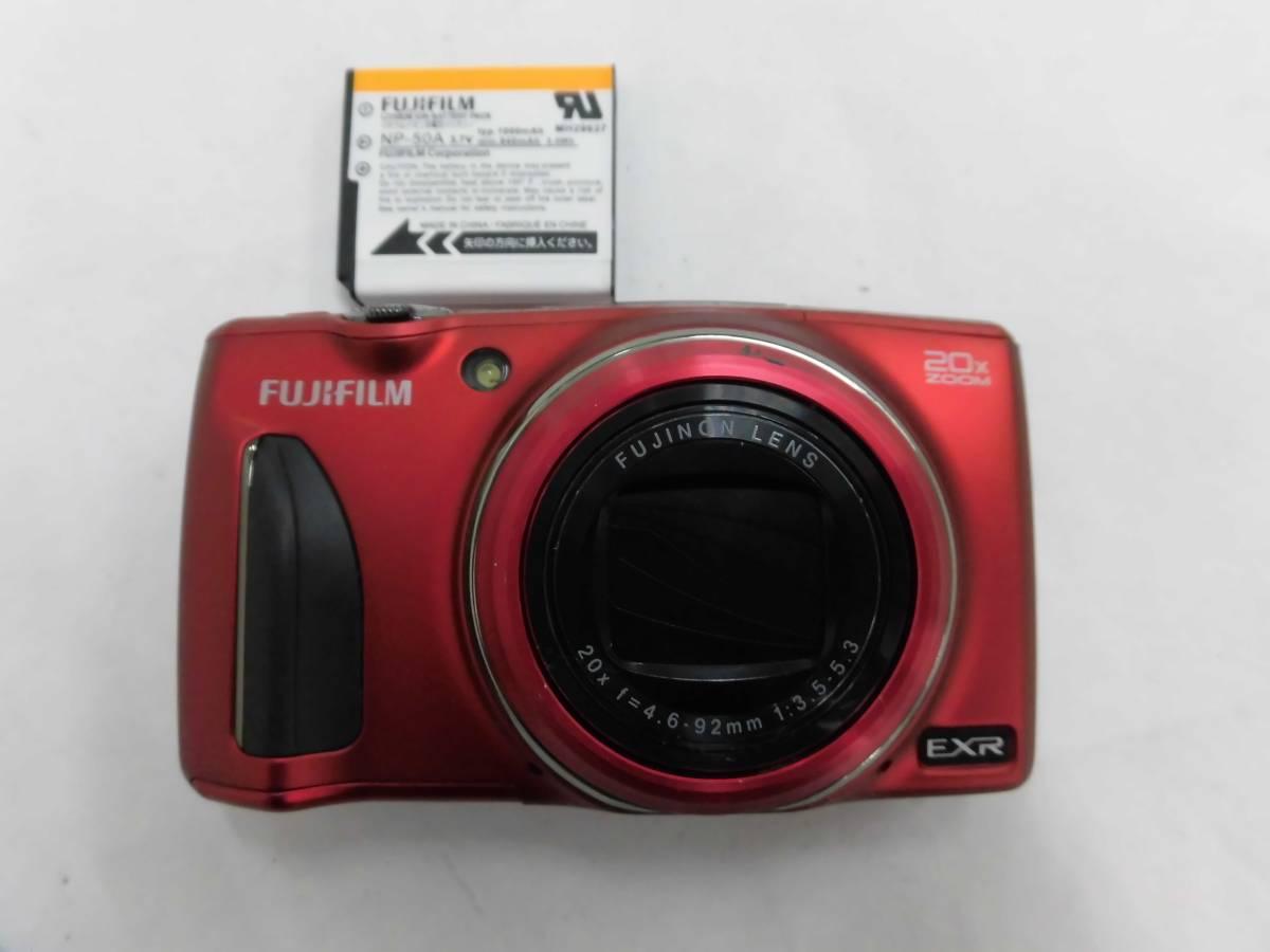 現状品 FUJIFILM FINEPIX F900EXR レッド 12/13L770