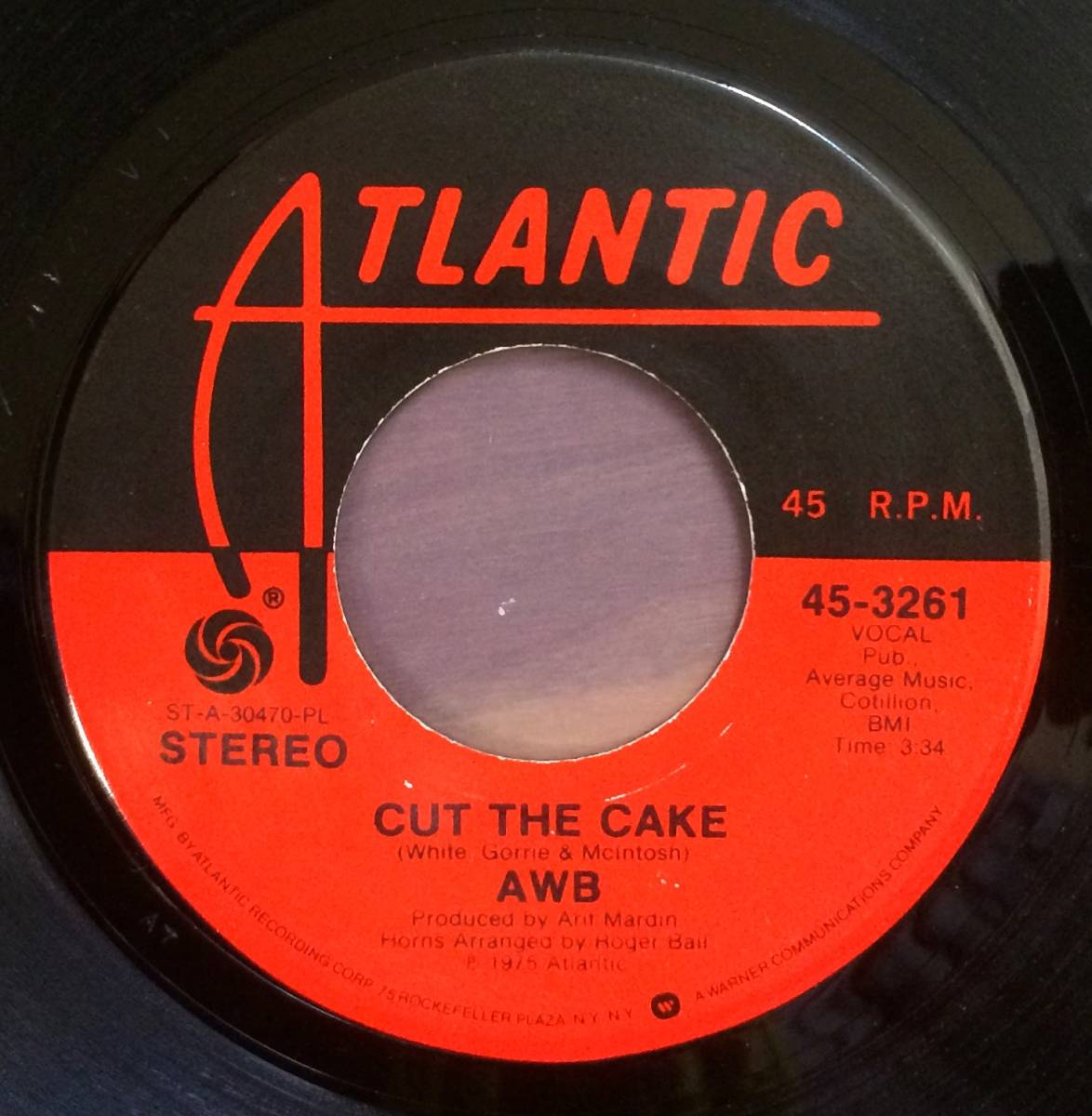 prompt decision have Average White Band Cut The Cake