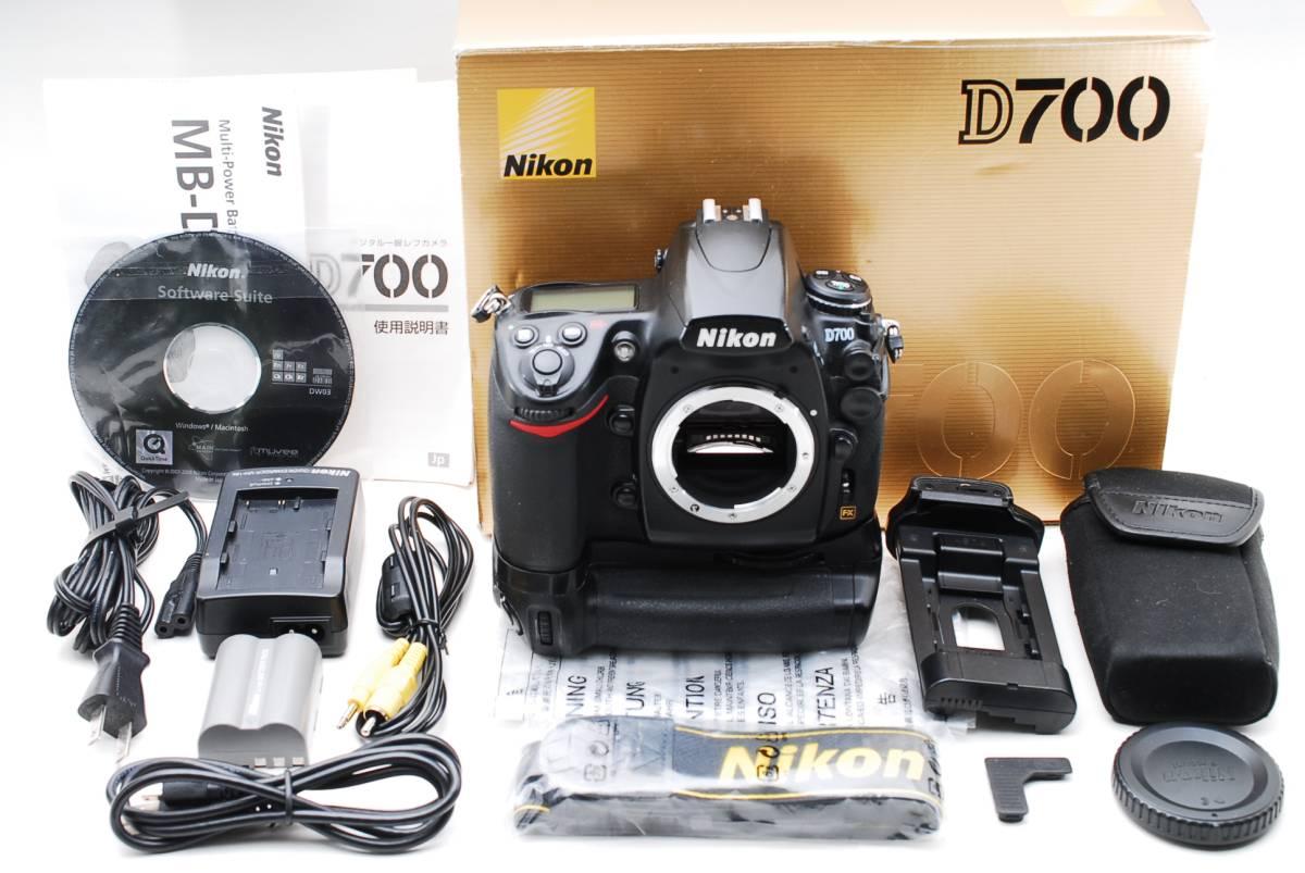 ★動作絶好調★ニコン Nikon D700 + MB-D10 元箱付き 付属品充実です!! #458