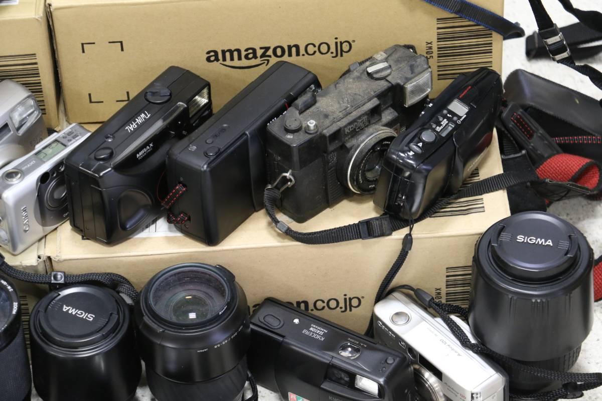 ジャンク カメラ レンズ 多数 ニコン キヤノン ミノルタ デジカメ 一眼レフ ストロボ 即決なら年末年始も発送できます。_画像6