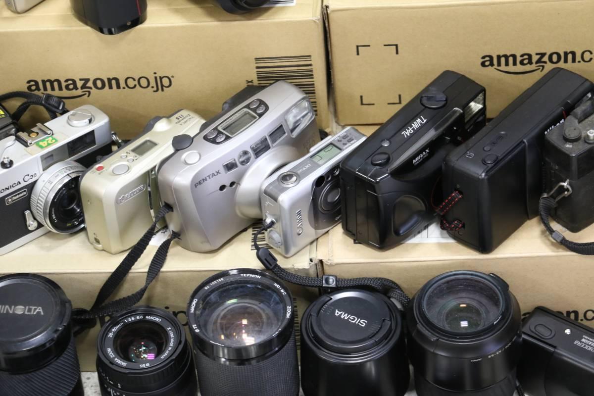 ジャンク カメラ レンズ 多数 ニコン キヤノン ミノルタ デジカメ 一眼レフ ストロボ 即決なら年末年始も発送できます。_画像5