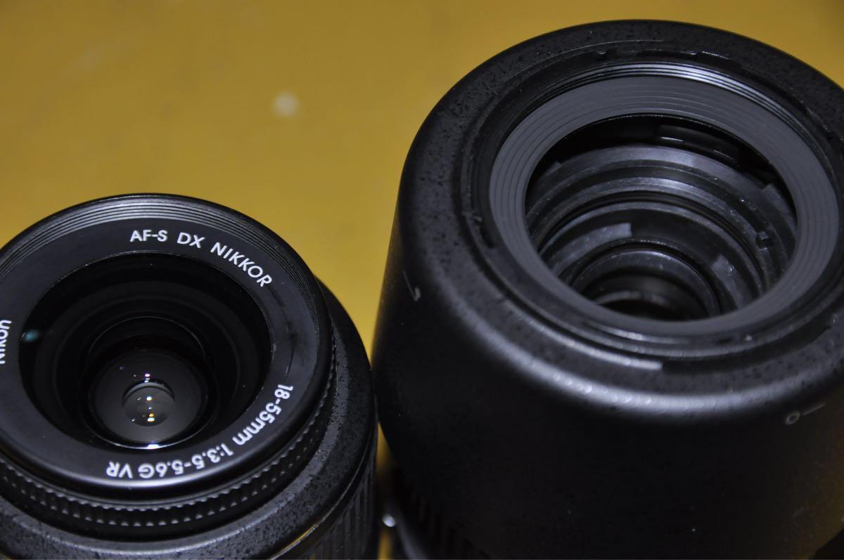 美品 ニコン NIKON D5000 ダブルズームレンズキット おまけ付き_画像4