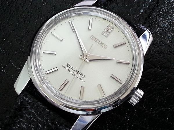 大野時計店 キングセイコー 44-9990 手巻 1966年7月製造 盾メダル 希少_画像1