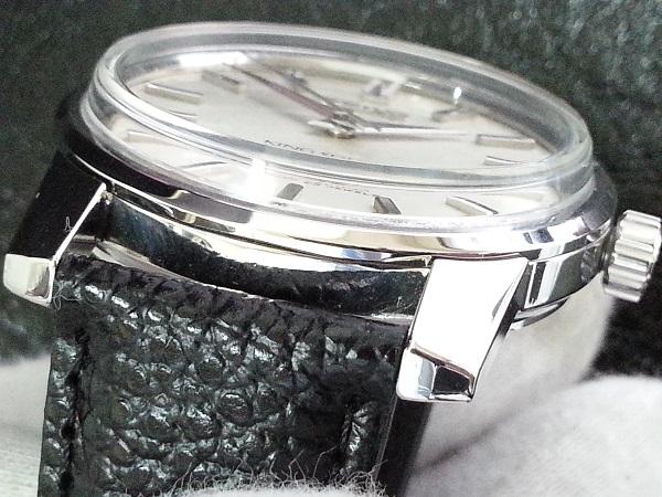 大野時計店 キングセイコー 44-9990 手巻 1966年7月製造 盾メダル 希少_画像4