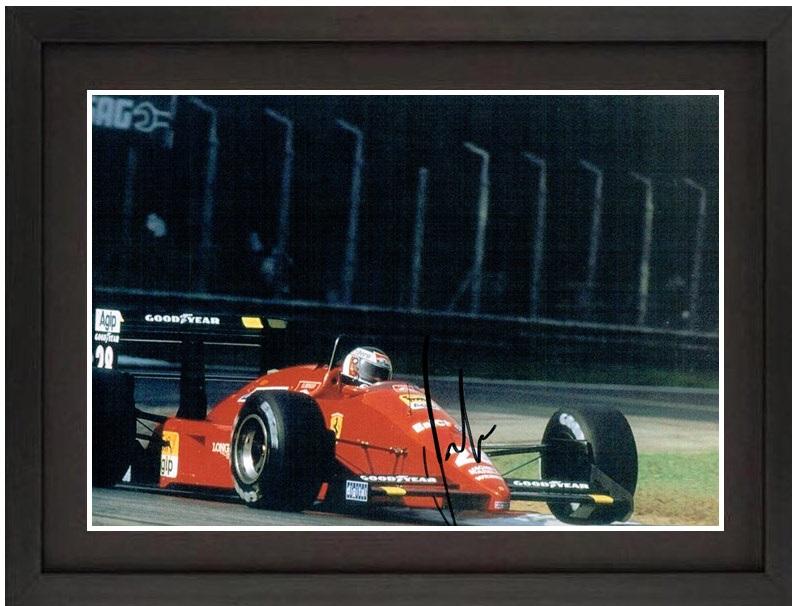 イタリアGPを行くフェラーリF187