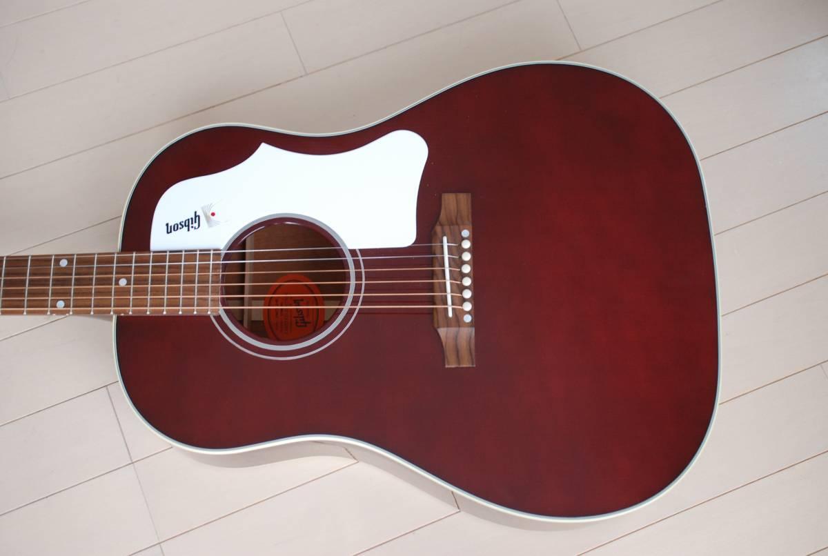 2016年製 Gibson Custom Shop J-45 60's エレアコ仕様 弦高メチャ低くてビックリするくら