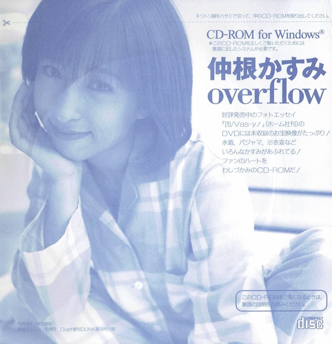 Duet増刊DUNK第18号付録 CD-ROM 仲根かすみ overflow 2003年