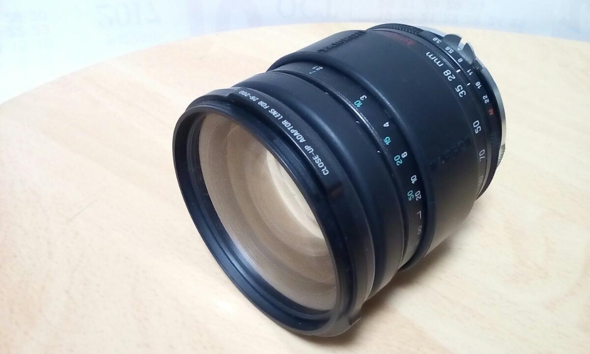 Nikon F TAMRON 28-200mm 1:3.8-5.6 ジャンク品_画像4