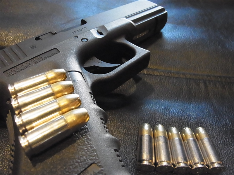 9mm Luger Golden Saber HPJ 124 Gr. Nickel FC +P Case 1個_画像1