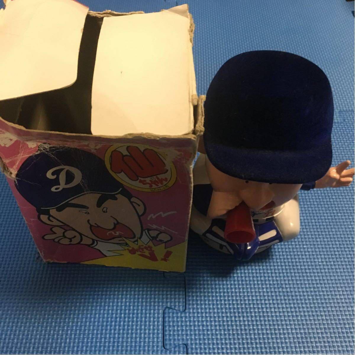 星野仙一 仙ちゃん人形 中日ドラゴンズ 動作 音声 確認済み インテリア 玩具 レア 貴重_画像2