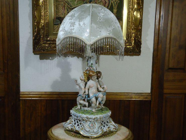 イタリア最高級ブランドTiche/ティケ◆2灯大型スタンドライト/2059 - Angels Lamp◆豪華