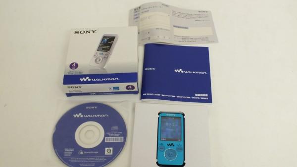動作品■SONY ソニー ウォークマン NW-S636F 4GB