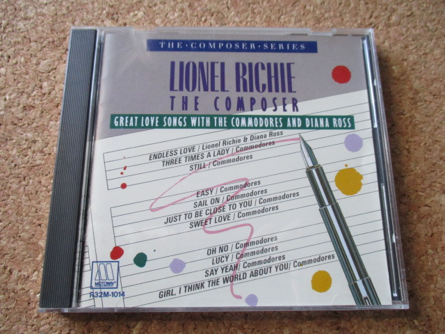 Lionel Richie:The Composer/Great Love Songs With The Commodores & Diana Ross ライオネル・リッチーWithコモドアーズ&ダイアナ・ロス♪_画像1