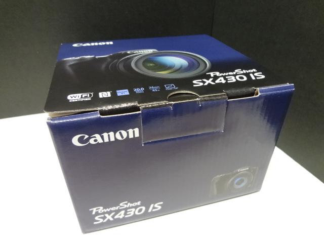 ★12月購入 未使用 デジタルカメラ Canon PowerShot SX430 IS◆35353