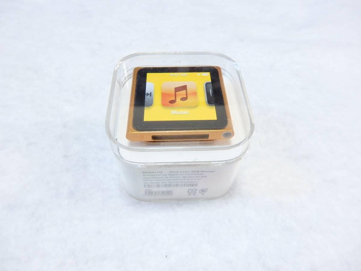 未使用 Apple iPod nano 第6世代 8GB MC691J/A