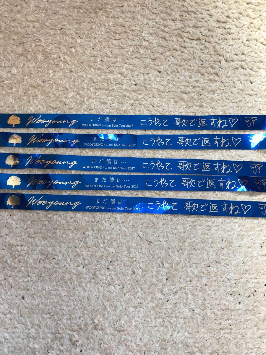 ウヨン 日本武道館 銀テープ5本セット