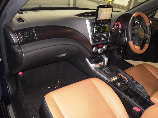 インプレッサ 5HB 4WD WRX STI A H23年 車検H30/6迄 HDDナビ フルセグ Bモニター ETC スマートキー キセノン クルコン 革シート 鑑定済み_画像3