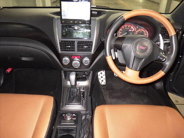 インプレッサ 5HB 4WD WRX STI A H23年 車検H30/6迄 HDDナビ フルセグ Bモニター ETC スマートキー キセノン クルコン 革シート 鑑定済み_画像6