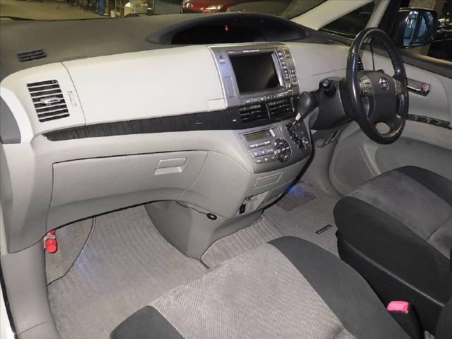 エスティマ アエラス 7ニン H18年 車検H31/1迄 HDDナビ 両側Pスラ Sモニター Bモニター 卸売価格で落札チャンス_画像3
