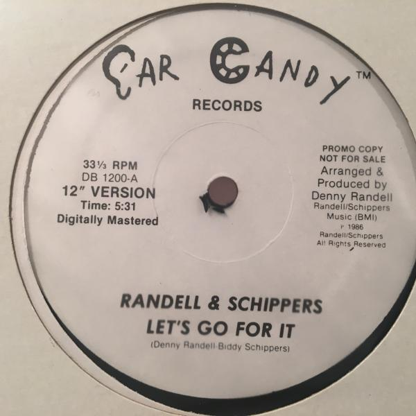 ☆Randell & Schippers/Let's Go For It☆DAM-FUNK!SYNTH FUNK!