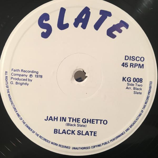 ★Black Slate/Jah In The Ghetto★KILLER UK ROOTS!レア!_画像3