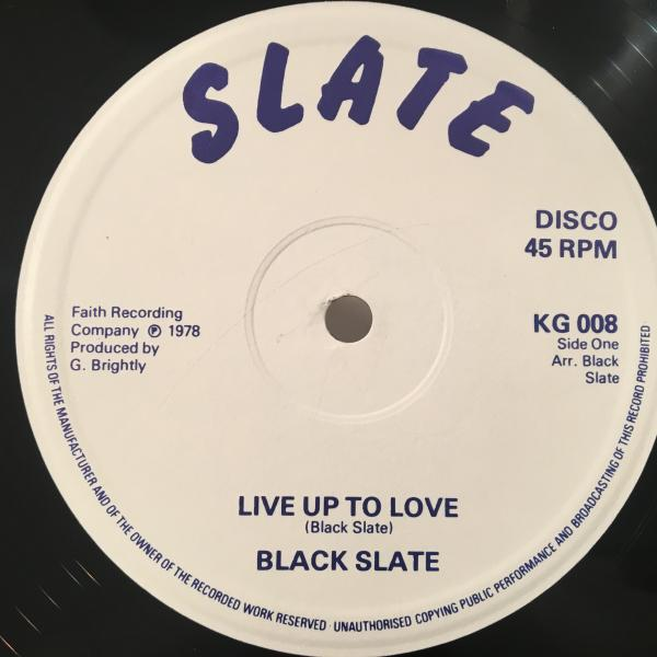 ★Black Slate/Jah In The Ghetto★KILLER UK ROOTS!レア!_画像2